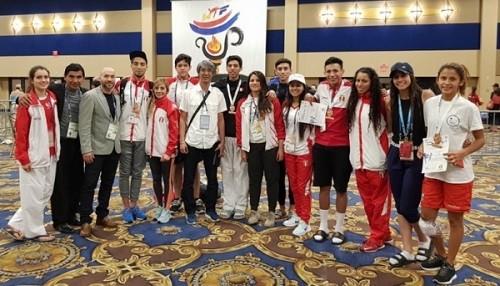 Cuatro medallas para Taekwondo en Copa Presidente de Estados Unidos