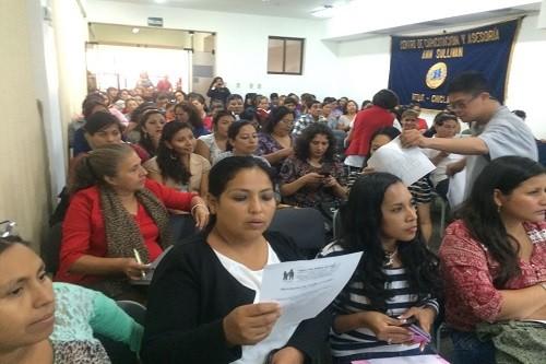 10 talleres gratuitos y simultáneos en 10 ciudades del Perú realizó el Centro Ann Sullivan del Perú -CASP