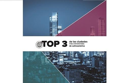 Top 3 de las ciudades más entretenidas de Latinoamérica para los peruanos