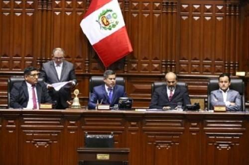 Congreso otorgó voto de confianza al Gabinete Aráoz