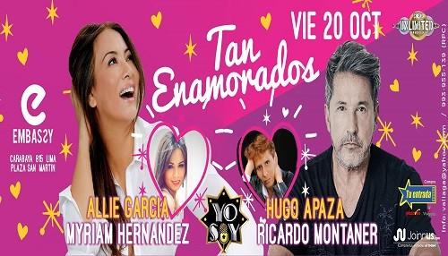 'Tan enamorados' es el Show Romántico de Ricardo Montaner y Myriam Hernández de Yo Soy