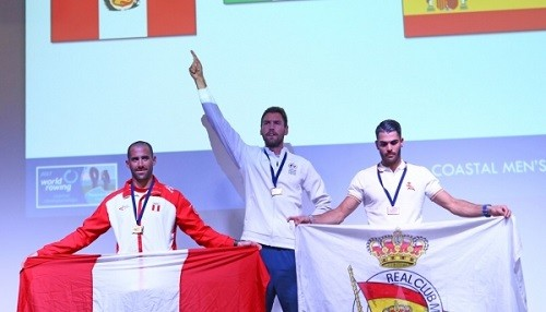 Eduardo Linares es subcampeón mundial de Remo Coastal