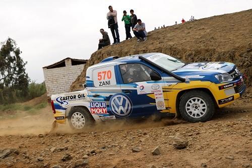 Álvaro Silva y su VW Amarok Van por la gloria