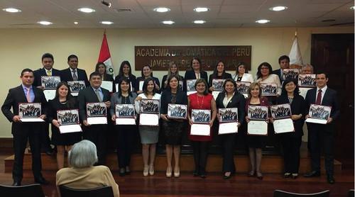 Protocolo y Ceremonial en la Academia Diplomática del Perú
