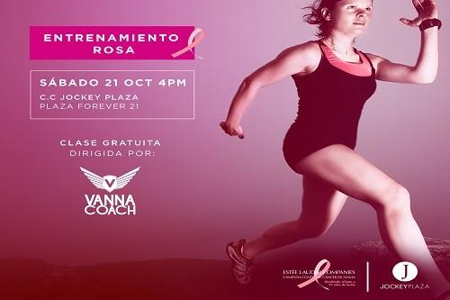 Jockey Plaza ofrece show gratuito para la concientización del cáncer de mamá