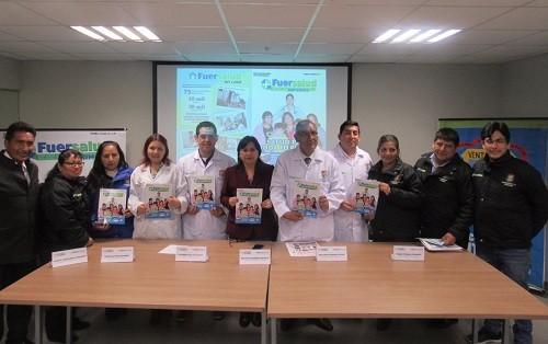 MDV realiza presentación de revista 'Fuersalud Informa'