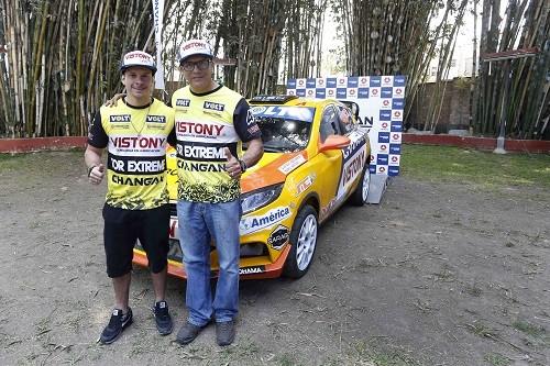 Mario Hart piloto oficial de Changan en Caminos del Inca 2017