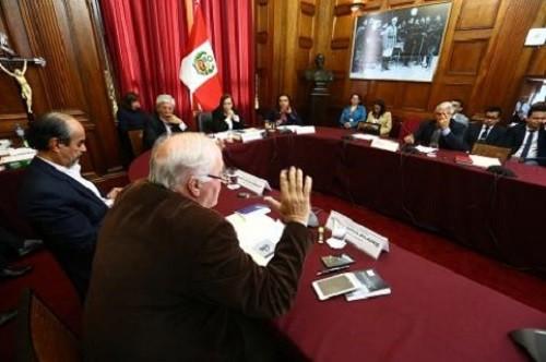 El viernes se analizará carta del presidente Kuczynski