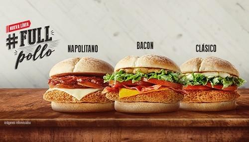 Llegó la nueva línea #FullPollo de McDonald's