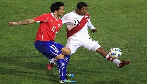 Qui n ganar el per vs chile Quien juega hoy futbol