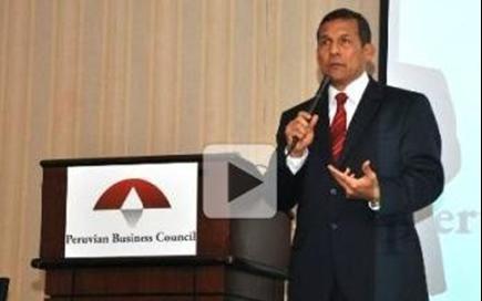 Ollanta Humala sobre posible crisis internacional: 'Perú se está preparando'