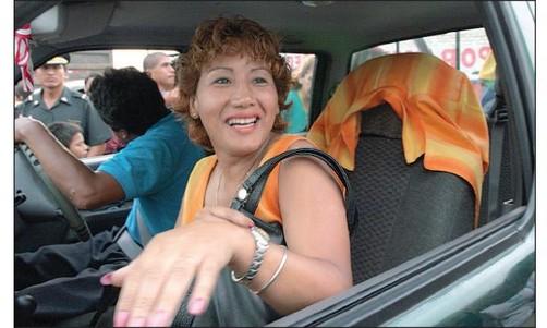Prima de Humala es acusada de supuesto tráfico de influencias