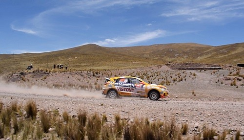 Buena etapa del Changan Rally Team
