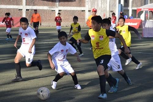 Seis equipos se enfrentarán en la Gran Final del Campeonato Nacional de Fútbol Infantil  Scotiabank