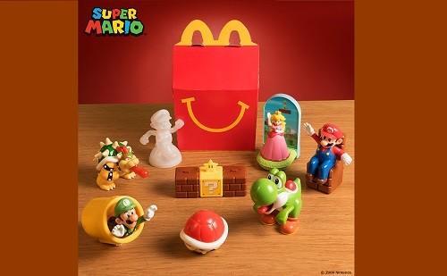 Nueva colección de juguetes Super Mario ingresa a la Cajita Feliz de McDonald's