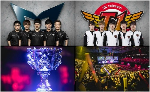 Equipos coreanos disputarán final del Campeonato Mundial de League of Legends