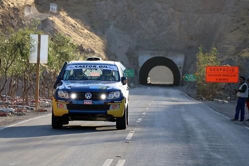 Silva y su Amarok cuarta victoria en Caminos Del Inca