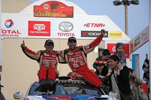 Lucho Alayza gana su cuarto título en la categoría en Caminos Del Inca