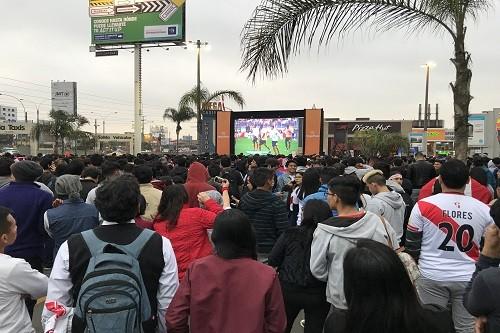 Vive el esperado Nueva Zelanda VS Perú desde MegaPlaza
