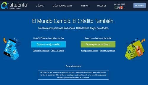 Afluenta supera el millón de dólares financiados en Perú