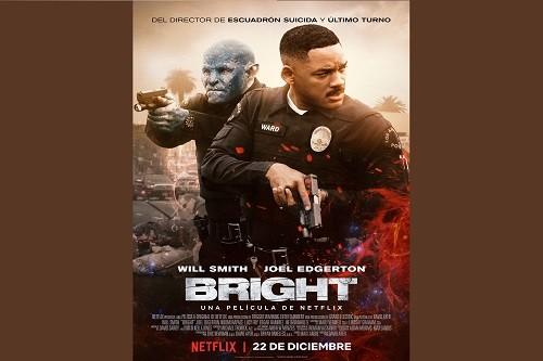 Netflix revela el arte principal de Bright