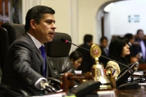 Galarreta promulgará ley de pensiones a favor de militares y policías