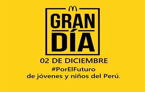 McDonald's dona las ventas de sus Big Mac en un Gran Díasolidario