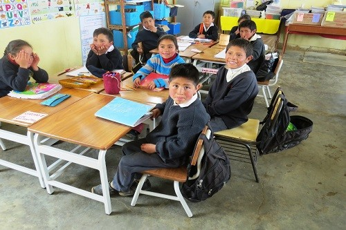 Fundación Pizzarotti entrega nuevo mobiliario a ocho escuelas de la provincia de Julcán