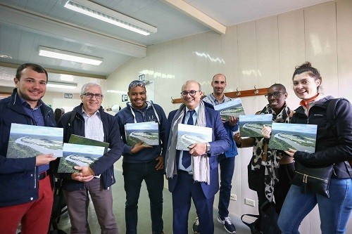 Estudiantes del MINES ParisTech conocen tecnología usada en planta de fraccionamiento del gas de Camisea en Pisco