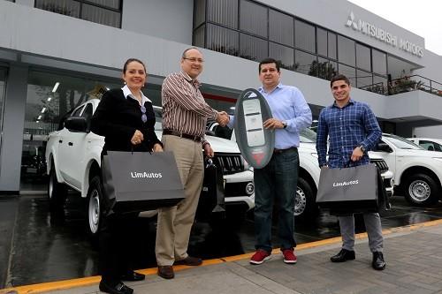 Flota de Pick up Mitsubishi L200 DK-R y camionetas Montero Sport  y Outlander fueron elegidas por importante empresa logística