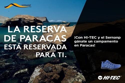 Gánate un campamento en la Reserva Nacional de Paracas para ti y tus amigos