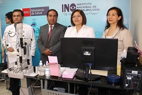 Minsa implementa Teleconsultorio de Oftalmología para mejorar la Salud Ocular del país