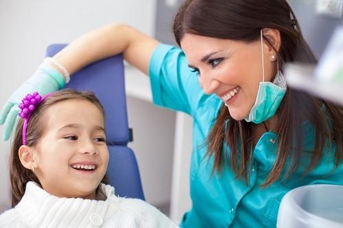 El cuidado de los dientes en los niños