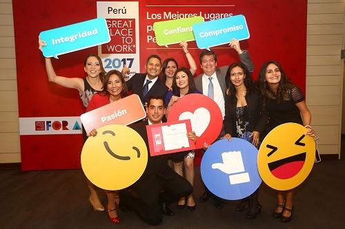 Atento reconocida una de las cinco mejores empresas para trabajar en Perú