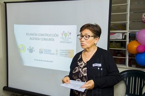 Organizaciones de mujeres de SJL participarán en el 1er encuentro sobre autonomía económica en relación al ejercicio de sus derechos