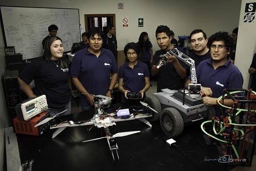 UCSP trabaja en proyectos tecnológicos para la búsqueda de personas luego de terremotos