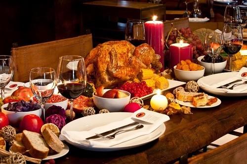 Opciones de cenas navideñas bajas en colesterol
