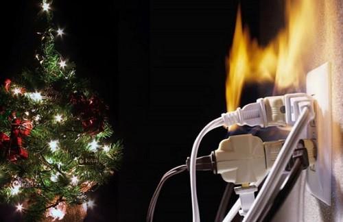 Decoración navideña vs seguridad eléctrica: Cómo evitar cortocircuitos e incendios en viviendas y negocios