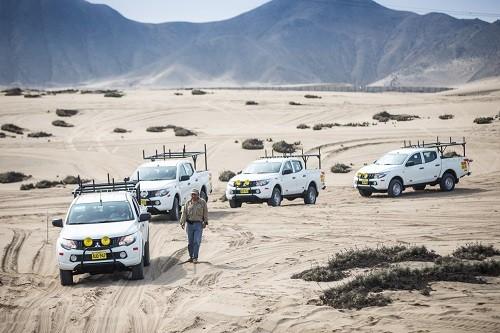 Mitsubishi Motors realiza importante entrega de flota de su pick up L200 DK-R a Bitel