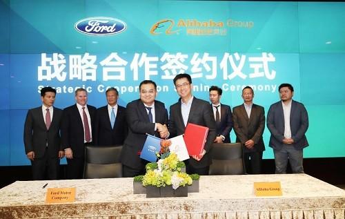 Ford y Alibaba acuerdan una colaboración estratégica para reimaginar la experiencia del usuario y expandir los servicios de movilidad