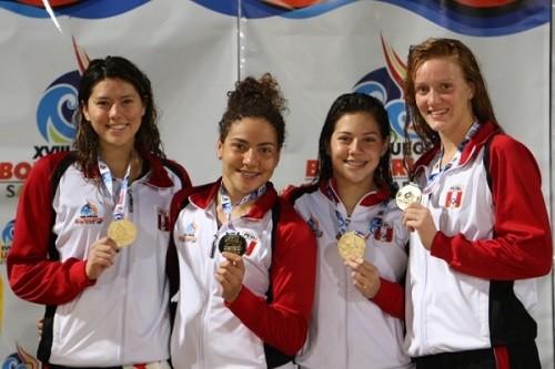 15 nadadores hacen marcas para juegos Odesur