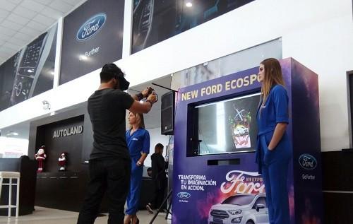 Ford Perú transformó la imaginación de sus clientes en acción con una increíble experiencia de realidad virtual