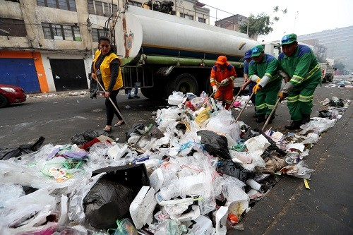 MML recogió más de 500 toneladas de residuos sólidos luego de celebraciones de Año Nuevo