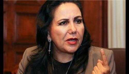 Gloria Montenegro: Apristas y fujimoristas constituyen los principales protagonistas de la corrupción en el Perú