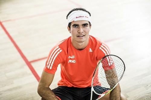 Diego Elias entre los 10 mejores del mundo en Squash