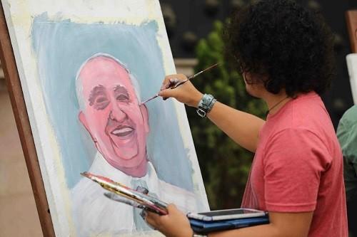 Con arte, música y literatura la MML se prepara para la llegada del Papa Francisco
