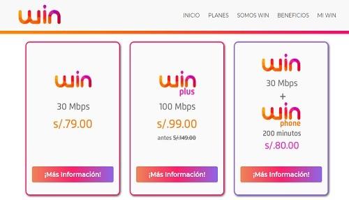 Win: Más de mil peruanos ya disfrutan del internet más veloz y al mejor precio