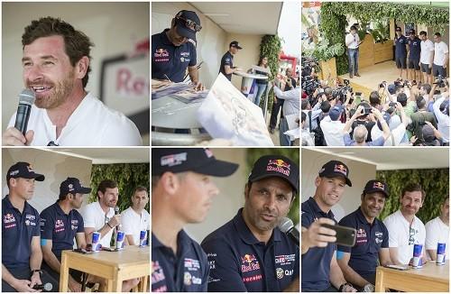 El Red Bull Energy Station recibió a las figuras del Dakar