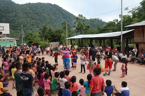 Más de 800 niños reciben presentes en área de influencia del Lote 108 en Junín