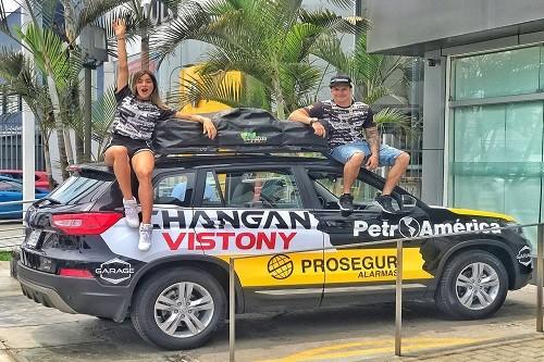 Hart y Changan presentes en el Dakar